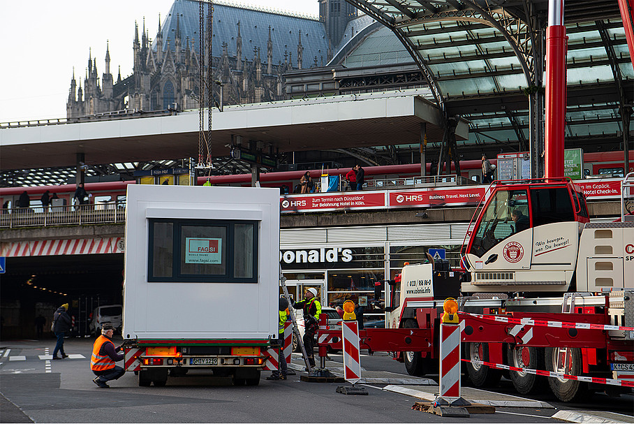 Bundespolizei Köln Hauptbahnhof
