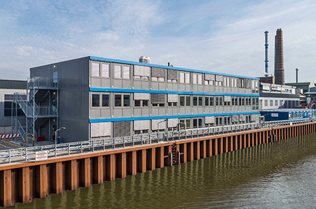 Containerbauweise Büro